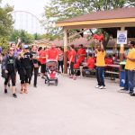 world mission society church of god, church of god, wmscog, philadelphia, american heart association, heart walk, dorney park, walk supporters, yellow shirt volunteers